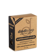 wattleseed bar soap 110g - boxed