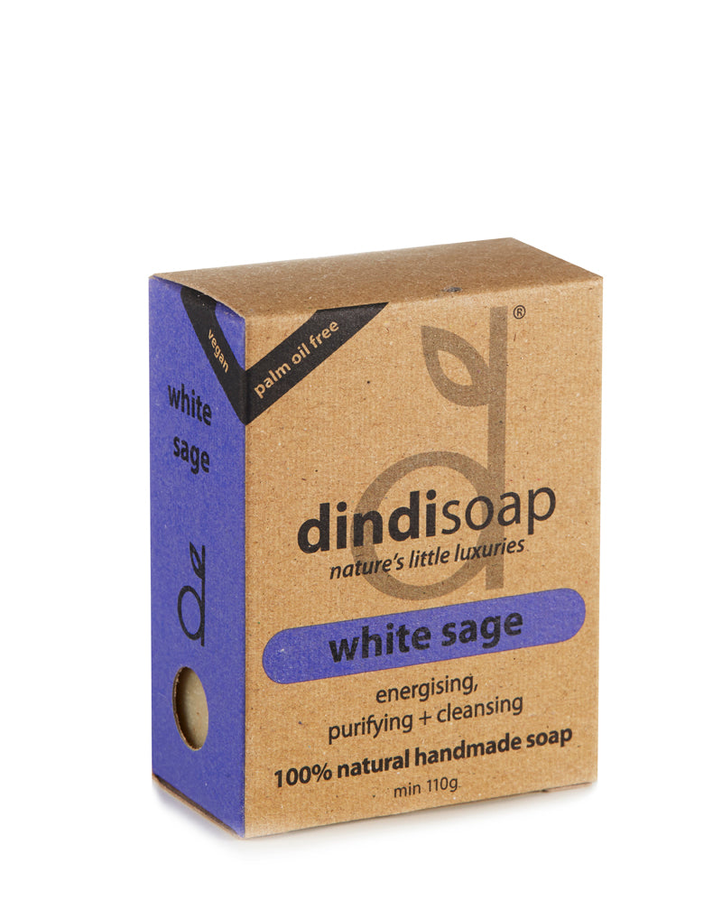 white sage bar soap 110g - boxed