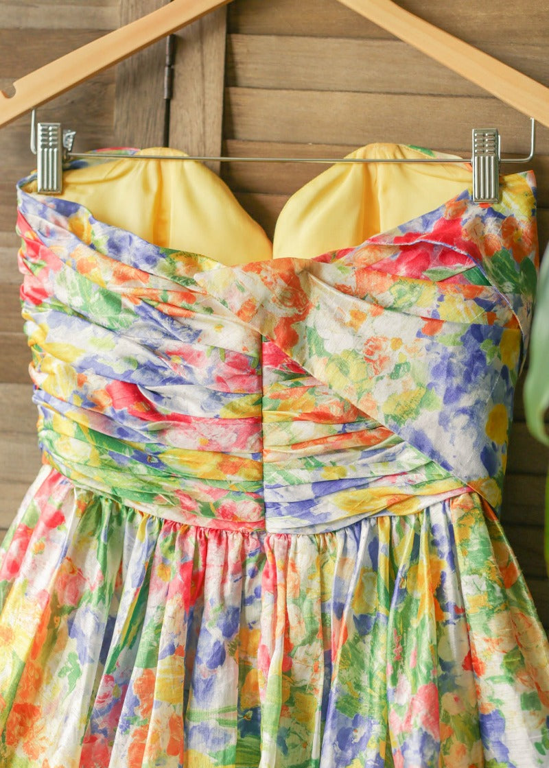UHMAZING Floral Party Dress