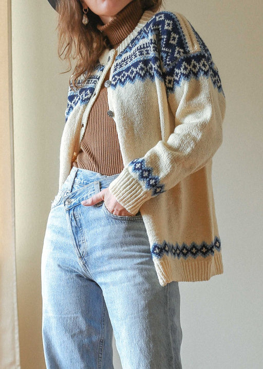 Scandinavian Wool Cardigan