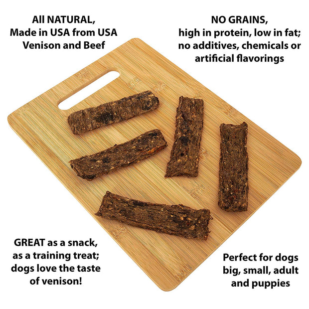 Venison and Beef Sticks