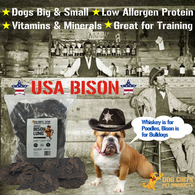 Bison Lung dogs love