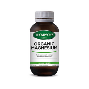 Thompson's Organic Magnesium Tablets - Australian Distributor - Oxygen Nutrition