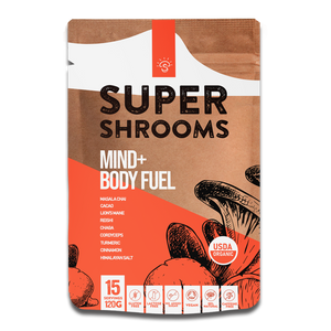Super Shrooms Mind + Body Fuel