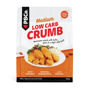 PBCO Low Carb Crumb Medium Spice