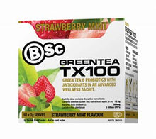 BSC Green Tea TX100 - Australian Distributor - Oxygen Nutrition