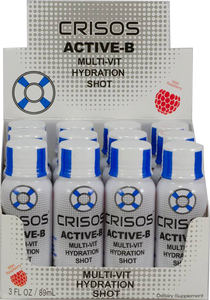 Crisos Active-B Recovery (Raspberry) shots - Australian Distributor - Oxygen Nutrition