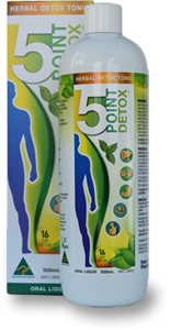 5 Point Detox - Australian Distributor - Oxygen Nutrition