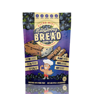 Macro Mike Blueberry Bread Baking Mix