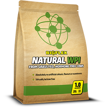 Bioflex Nutrition Natural WPI 1kg