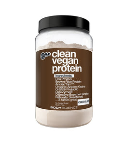 Body Science Clean Vegan Protein - Australian Distributor - Oxygen Nutrition
