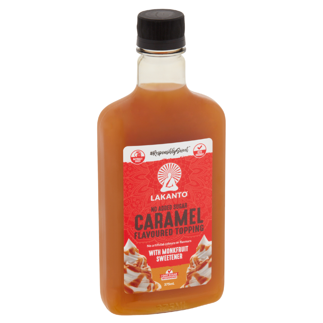Lakanto Low Calorie Caramel Flavoured Topping