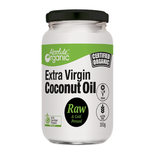 Absolute Organic Extra Virgin Coconut Oil - Australian Distributor - Oxygen Nutrition