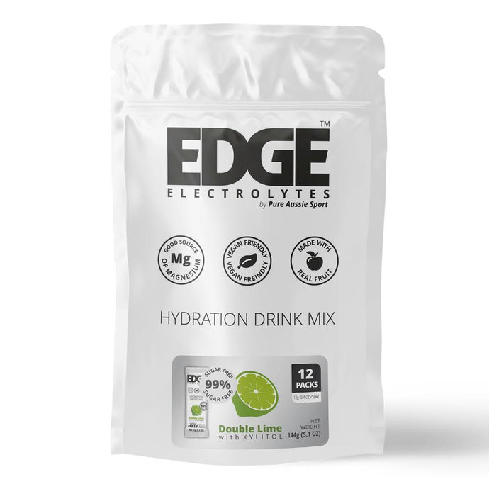 Edge Electrolytes Sugar Free Double Lime