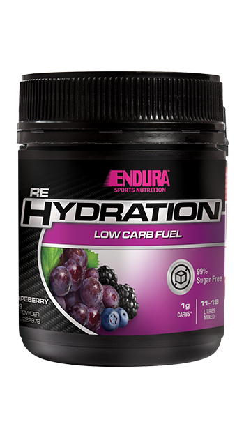 Endura Rehydration Low Carb Fuel - Australian Distributor - Oxygen Nutrition