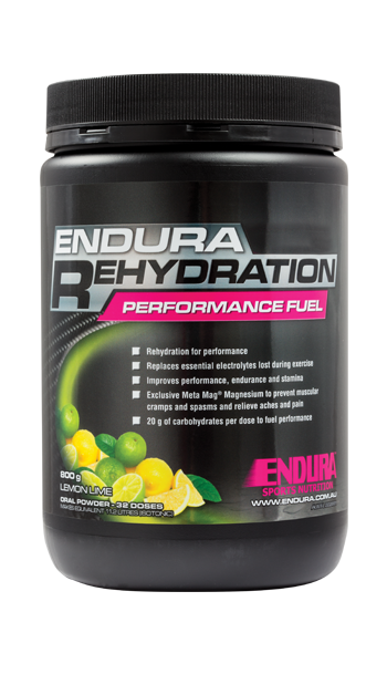 Endura Rehydration Performance Fuel - Australian Distributor - Oxygen Nutrition