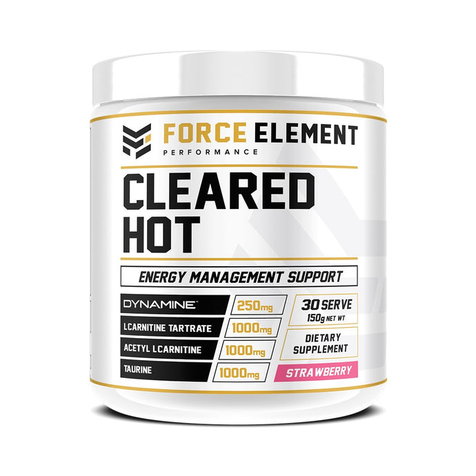 Force Element Cleared Hot  Energy Management Support - Australian Distributor - Oxygen Nutrition