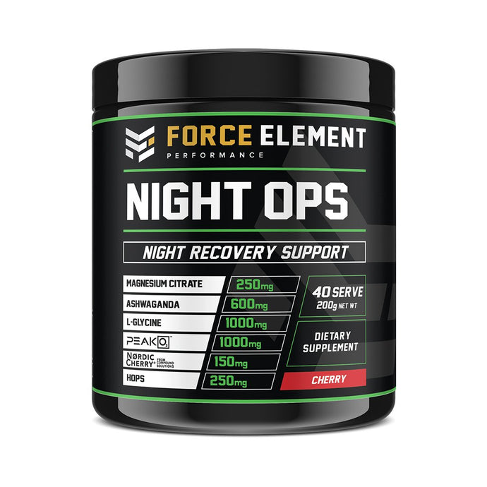 Force Element  Night Ops Rest Aid - Australian Distributor - Oxygen Nutrition