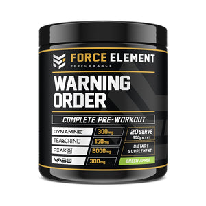 Force Element Warning Order Pre-Workout - Australian Distributor - Oxygen Nutrition