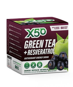 Green Tea X50 - Australian Distributor - Oxygen Nutrition