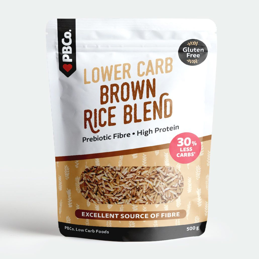 PBCO Lower Carb Brown Rice Blend