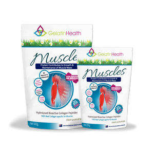 Gelatin Health Collagen Muscle Protein