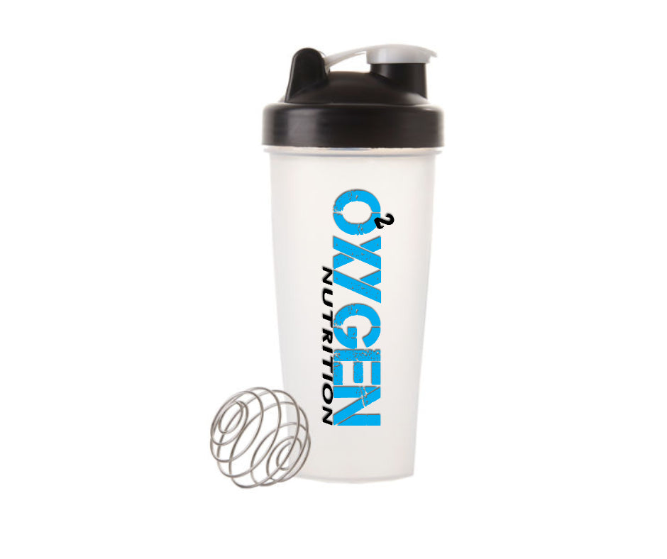 Oxygen Nutrition 600ml Shaker Bottle BPA FREE