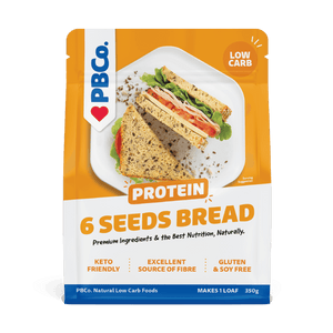 PBCO Protein Bread Mix – 6 Seeds