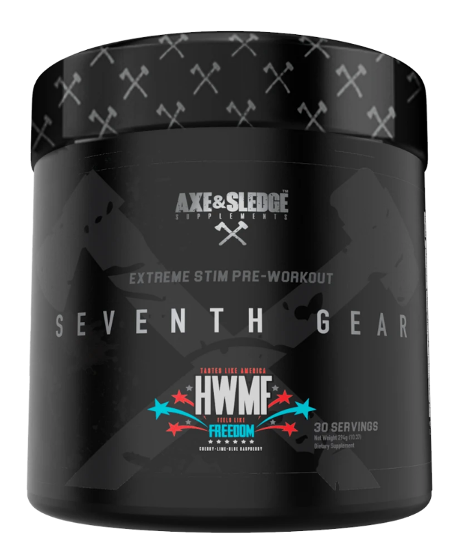 Axe & Sledge Seventh Gear Pre Workout