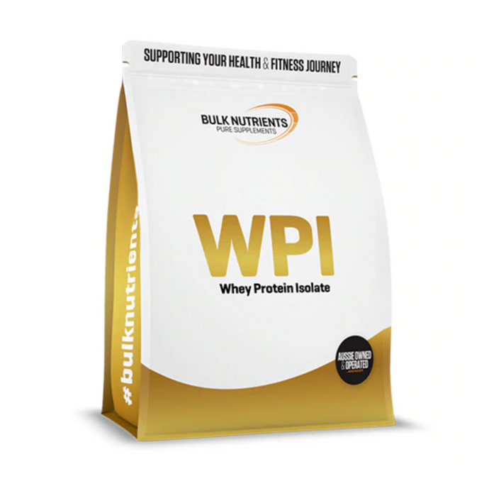 Bulk Nutrients WPI Whey Protein Isolate