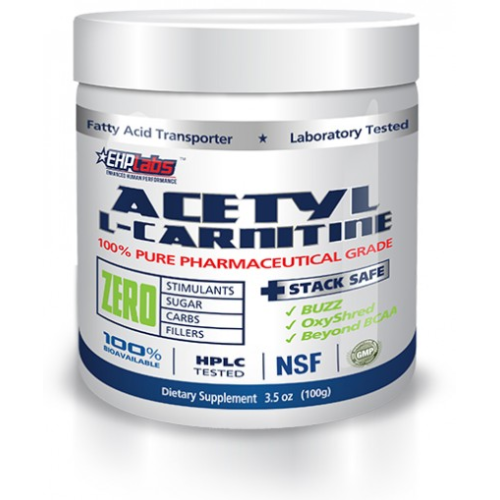 EHP Labs Acetly L Carntine 100g - Australian Distributor - Oxygen Nutrition