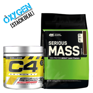 C4 Serious Mass Gainer Starter Stack