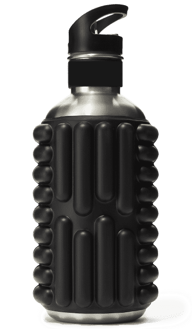 Uniq Fitness Foam Roller Stainless Steel Water bottle - Australian Distributor - Oxygen Nutrition