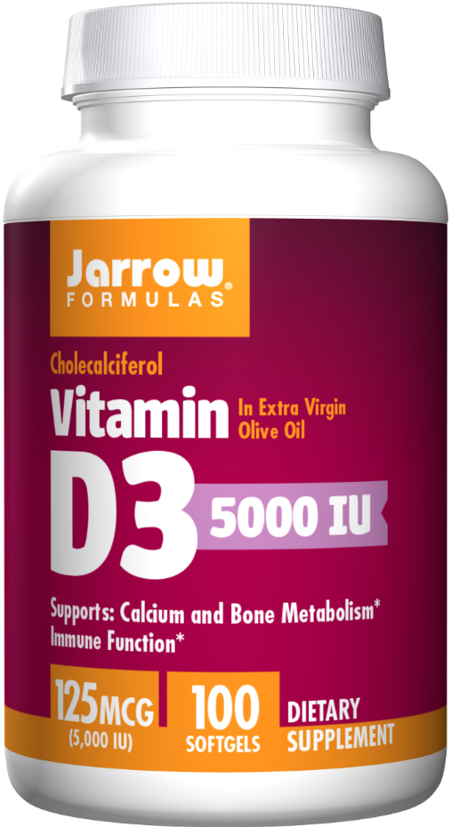 Jarrow Formulas Vitamin D3 200 softgels