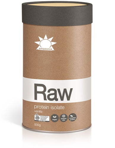 Raw Protein Isolate - Australian Distributor - Oxygen Nutrition