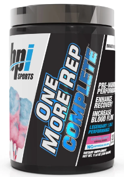 BPI Sports One More Rep Complete Pre Workout 20 Serve