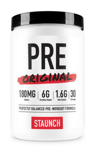 Staunch Pre Original Pre Workout