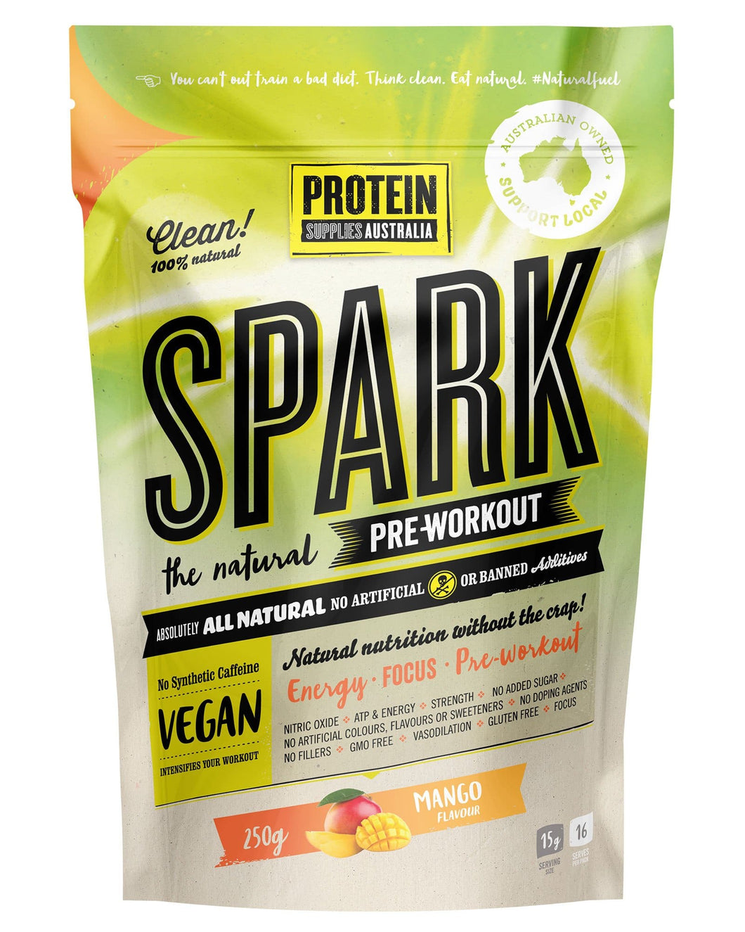 Protein Supplies Australia SPARK Pre-Workout - Australian Distributor - Oxygen Nutrition