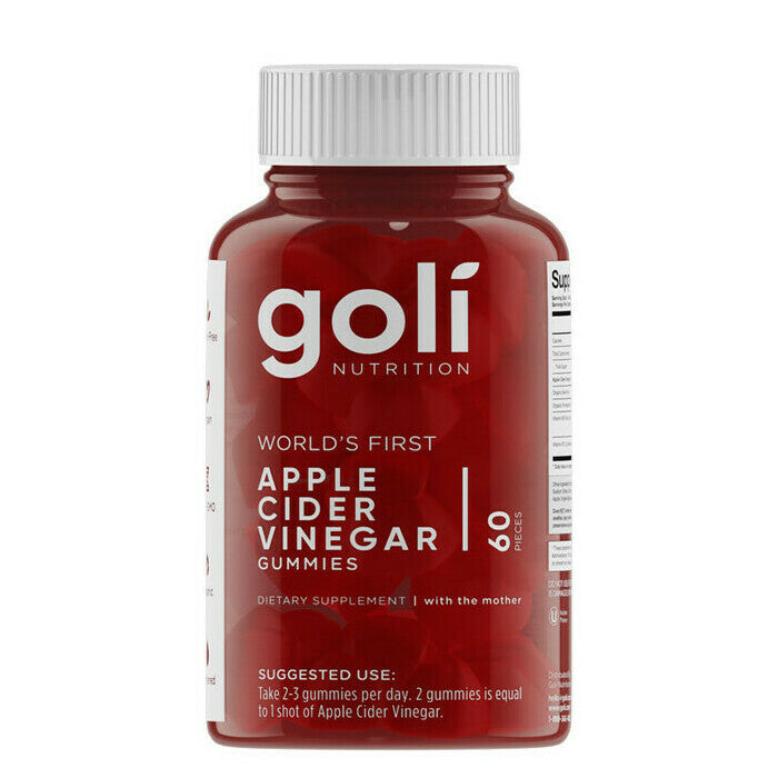 Goli Apple Cider Vinegar Gummies - Australian Distributor - Oxygen Nutrition