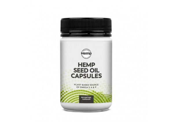 Essential Hemp Seed Oil Capsules