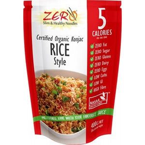 Zero Slim and Healthy Low Calorie Pasta, Noodles and Rice