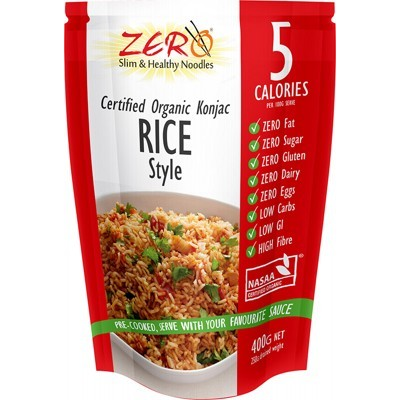 Zero Slim and Healthy Low Calorie Pasta, Noodles and Rice - Australian Distributor - Oxygen Nutrition