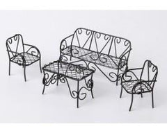 Four Piece Fairy Table and Chair Set