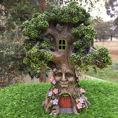 Wisdom Tree Fairy House With Solar Lighting