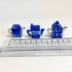Little Ceramic Teapot Houses