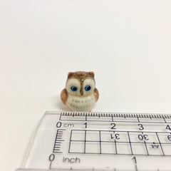 Small Miniature Ceramic Owl