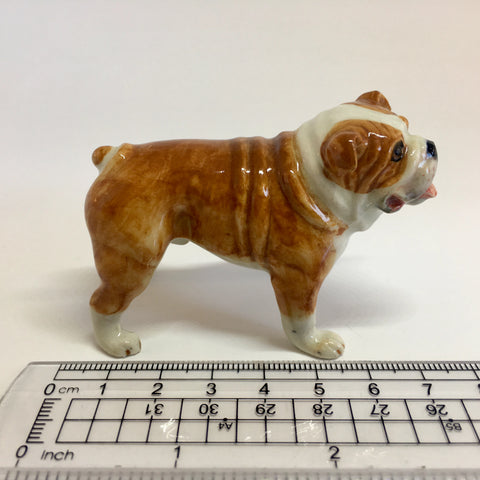 Miniature Ceramic Bulldog