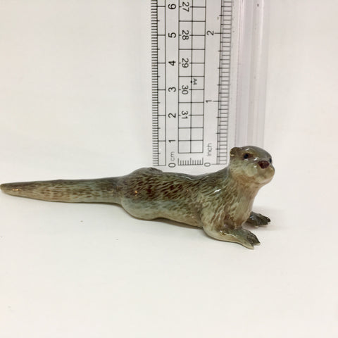 Miniature Ceramic Otter