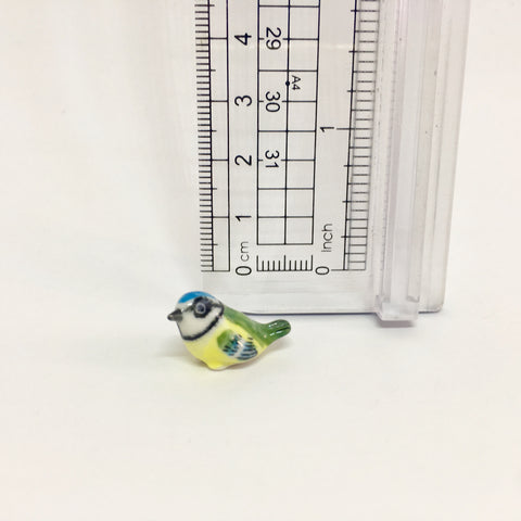 Tiny Miniature Ceramic Bird