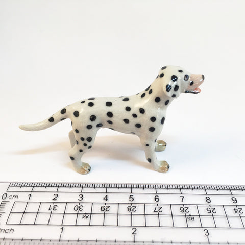 Miniature Ceramic Dalmatian
